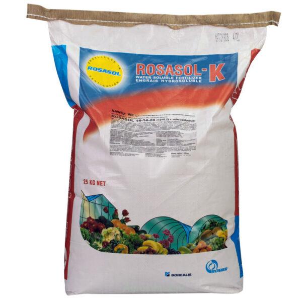 Nawóz ROSASOLl 14-14-28 (+2+5,8) + mikroskładniki